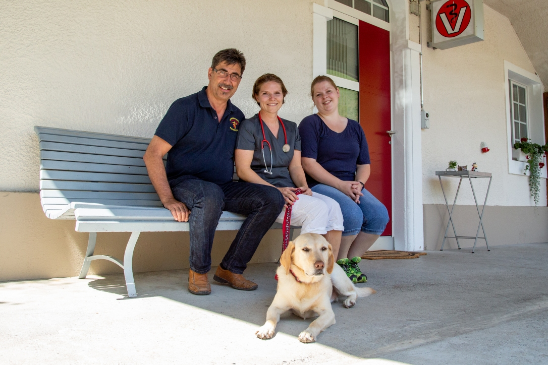 Tierarztpraxis Scherliau Team